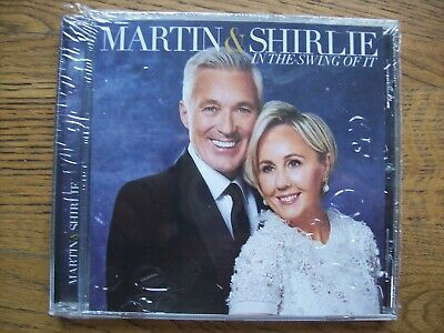 Martin & Shirlie - In The Swing Of It - CD - Signed Edition Brand New