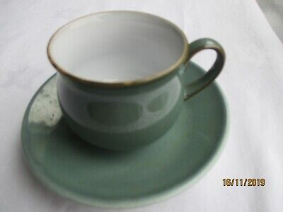 "Denby ""Regency Green"" Coffee Cup & Saucer"