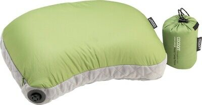 Cocoon Air Core Hood/Camp Pillow UL Inflatable Travel Pillow, Wasabi