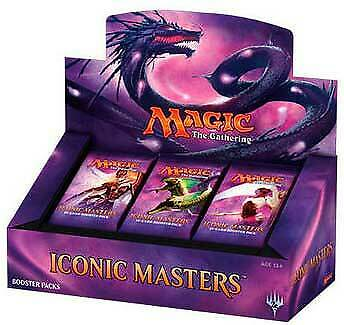 Magic the Gathering: Iconic Masters Sealed 24 Booster Box Wizards of the Coast