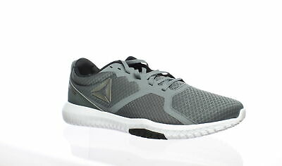 Reebok Mens Flexagon Force Gray Cross Training Shoes Size 12 (459005)