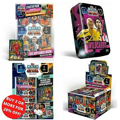 Match Attax Extra 2019/20 19/20 Mini Tin/ Mega Tin/ Starter Pack/ Swap Box....