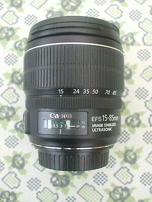 Canon  EF-S 15-85mm 1:3.5-5.6 IS USM Lens.  Mint Condition