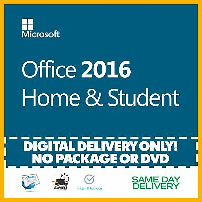 Microsoft Office 2016 Home and Student Product Key 🔐 Activation License