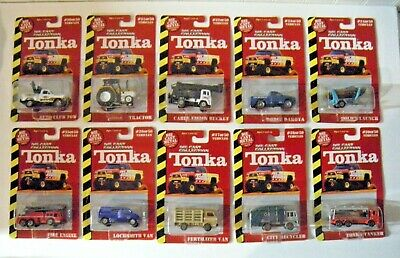 1999 Diecast Collection Tonka Series 1 by Maisto 1:64 Lot of 10 Cars and Trucks