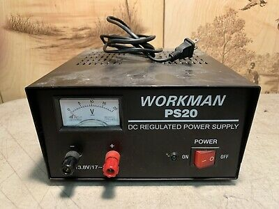 Workman (PS20) DC Regulated Power Supply