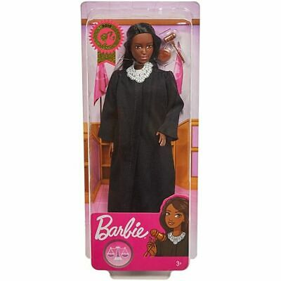 CAREER OF THE YEAR 2019 - JUDGE AA Barbie DOLL African American FXP43 NEW NRFB!!