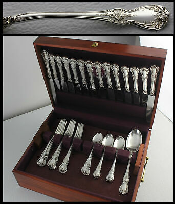 MSRP $8100 Towle 1942 OLD MASTER Sterling SilverWare Set Service for 14 Flatware