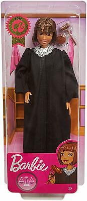 2019 Career of the Year JUDGE BARBIE DOLL Short Brown Hair - FXP44 PriorityMail!