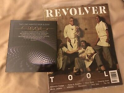 Tool Fear Inoculum CD (Deluxe Edition) ~ Limited + Sealed Revolver 2019 Magazine