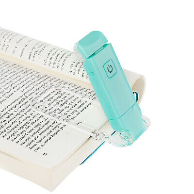 DEWENWILS LED USB Rechargeable Book Light for Reading in Bed Warm White HBRL01B