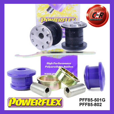 VW Jetta MK6 Multi-Link 11on Powerflex Rr Lowr Spring Mnt Inner Bushes PFR85-510