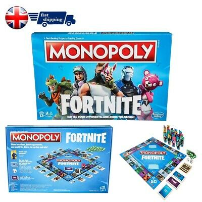 Monopoly Fortnite Edition Board Game New and Sealed Family Party Board Game Fun!