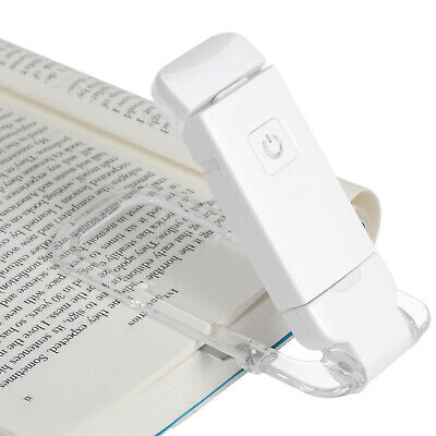 DEWENWILS LED Rechargeable Book Light for Reading in Bed Warm White HBRL02A