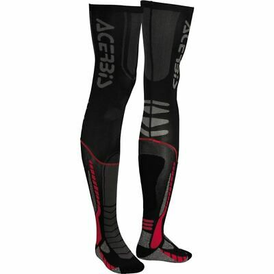 Acerbis X-Leg Pro Socks - Blk/Red, All Sizes