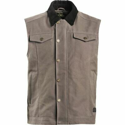 Roland Sands Design Ramone Textile Vest - Charcoal, All Sizes