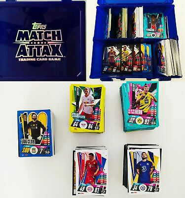 Match Attax Extra  2019/20 19/20 Bundle Of 50, 100 In A Swap Box  Carry Case