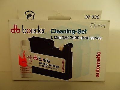 Boeder, Cleaning Set, Reinigungs-Cartridge for all Dc 2000 Drives #K-13-8