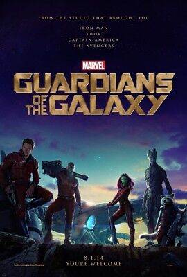 Guardians of the Galaxy - original DS movie poster D/S 27x40