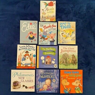 Lot of 10 Children's Picture Books: Dolly Parton Imagination Library Series PBs