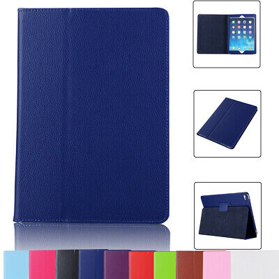 For iPad 7th Gen 10.2 2019 A2200 A2198 PU Leather Stand Smart Flip Cover Case