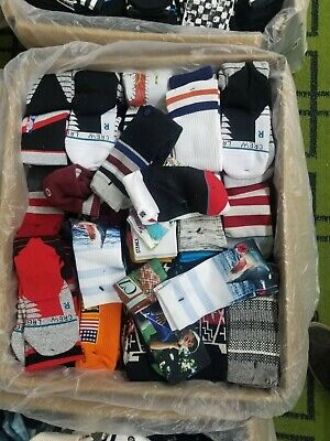 Lot of 5 Stance Mens Crew Socks Size  LARGE  Grade B Socks