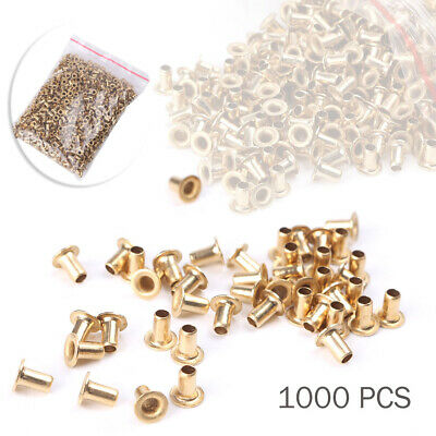 1000Pcs Bee Hive Beehive Brass Wooden Frame Eyelets Beekeeping Tools
