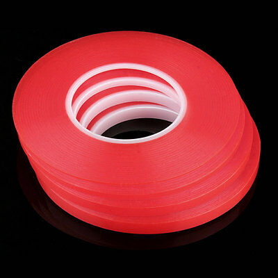 Heat Resistant Double-sided Transparent Clear Adhesive Tape 50M Multi-role hj