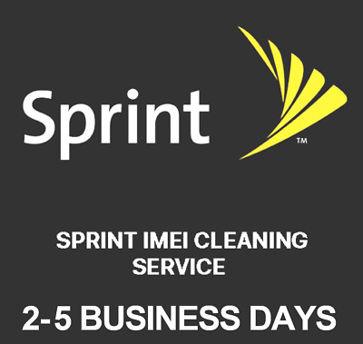Sprint USA Premium Unbarring Cleaning Service iPhone & all Android models | 100%