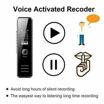 32GB Rechargeable Digital Audio/Sound/Voice Recorder Dictaphone MP3 Player 2020