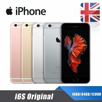 Apple iPhone 6s Unlocked 16/64/128GB Mobile Smartphone SIM Free New Sealed New