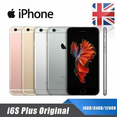 Apple iPhone 6s Plus Unlocked 16/64/128GB Mobile Smart Phone Grey Gold Silver