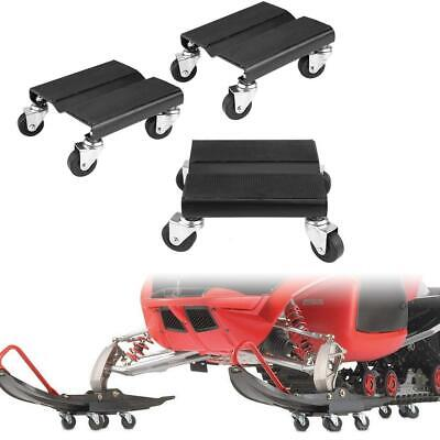 3X Tire Car Dolly Auto Repair Snowmobile Moving Dollies Set 1500lbs Capcity