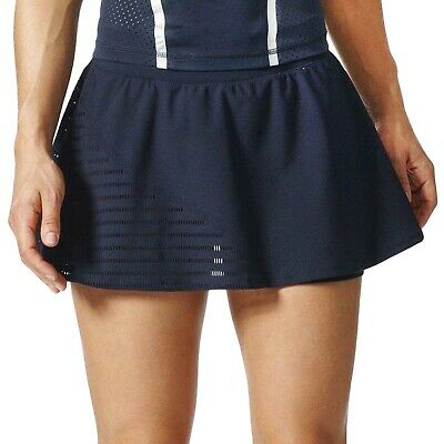 adidas Stella McCartney Womens Barricade Tennis Skort Skirt - Legend Blue