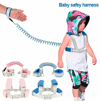 Kids Children Anti-lost Toddler Strap Walking Belt Safety Harness Leash Traction