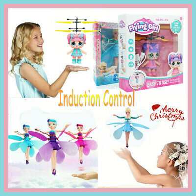 LOL/Fairy/Frozen Flying Doll Magic Infrared Induction Control kids Toy Xmas Gift