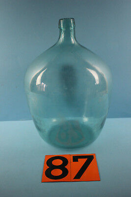 Alter  Glasballon Transparent Ca 10 Liter Nr 87