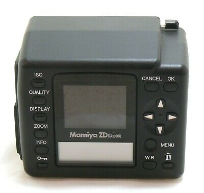 Mamiya ZD Digital Back for 645 AFD with filter MINT- #35379