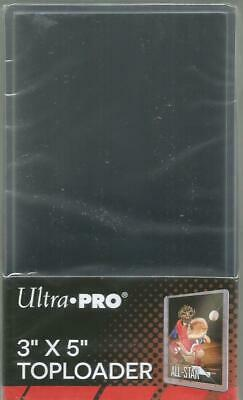 Ultra Pro Tall Top Loaders Pack of 25 for Widevision Cards 3'' x 5'' Toploaders