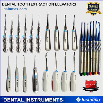 Surgical Dental Luxating Elevators Periotome PDL Luxation Root Extracting Tools