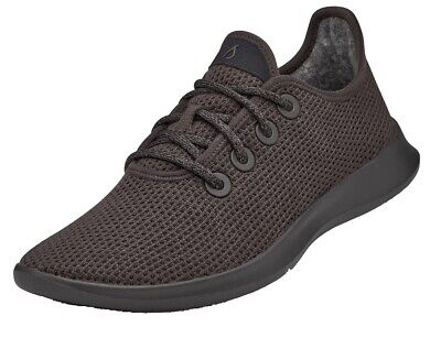 Allbirds Men's Tree Runners Charcoal/Charcoal Sole Comfort Shoes NW/OB