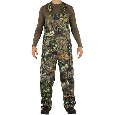Mossy Oak Cotton Mill 2.0 Camo Hunting Bibs Uninsulated Overalls for Men