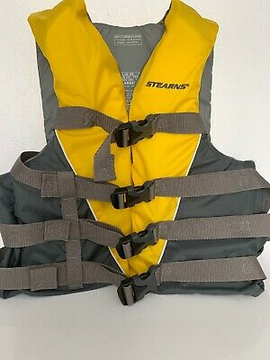 Life Jacket Vest Adult PFD Type III Fully Enclosed US Coast Guard Approved SAFE!