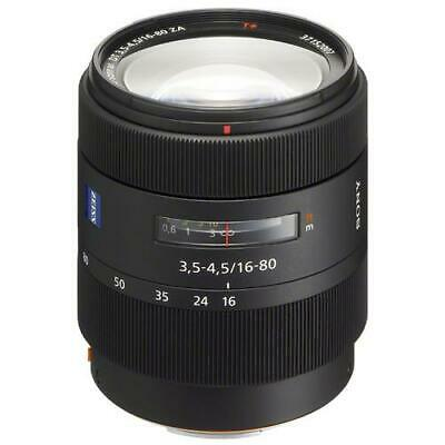 Sony 16-80mm f/3.5-4.5 Vario-Sonnar T* DT Carl Zeiss A-Mount Lens #SAL1680Z