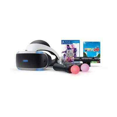 Sony PlayStation VR Blood  Truth and Everybody's Golf VR Bundle #3004150
