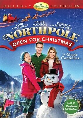 NORTHPOLE OPEN FOR CHRISTMAS New Sealed DVD Hallmark Channel Holiday Collection