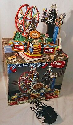 COCA COLA A THIRST FOR FUN COKE Multi-Action Illuminated Delux Musical1994  NEU