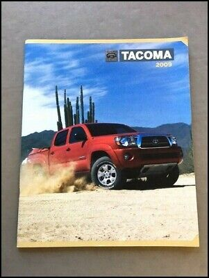 1998 Toyota Tacoma Pickup Truck 28-page Sales Brochure Catalog 4x4 Xtracab
