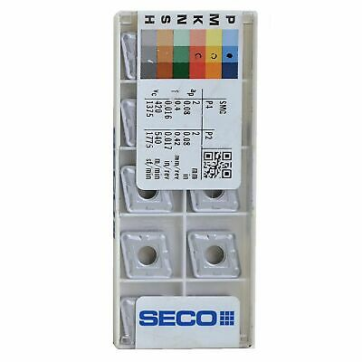 Seco CNMG120416-M3,TP2501 Inserts for Turning 1 Pack w/ 10 Pcs