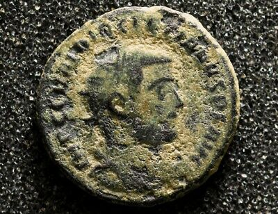 Uncleaned DIOCLETIAN. 284-305 AD. Antoninianus Ancient Roman Imperial coin.